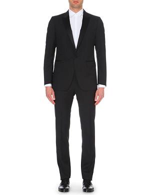LANVIN Satin-trim wool and mohair-blend tuxedo suit