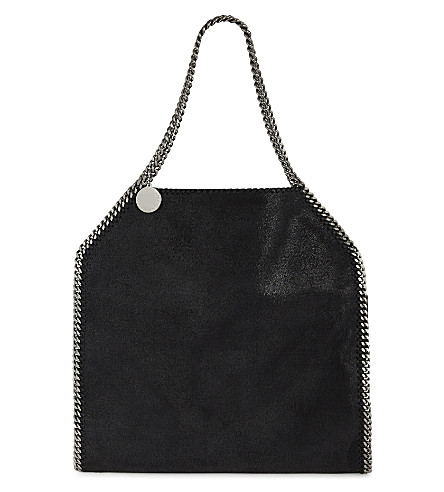 STELLA MCCARTNEY Falabella large shoulder bag (Blk