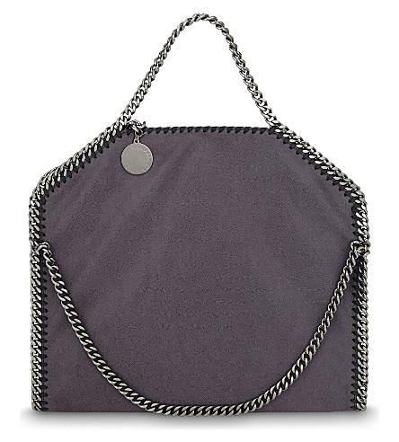 STELLA MCCARTNEY Falabella shaggy deer tote (Bark