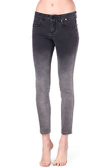 STELLA MCCARTNEY Dégradé skinny low-rise jeans