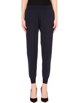 STELLA MCCARTNEY Knitted jogging bottoms