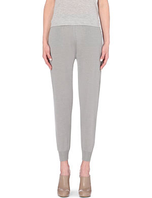 STELLA MCCARTNEY Knitted jogging bottoms
