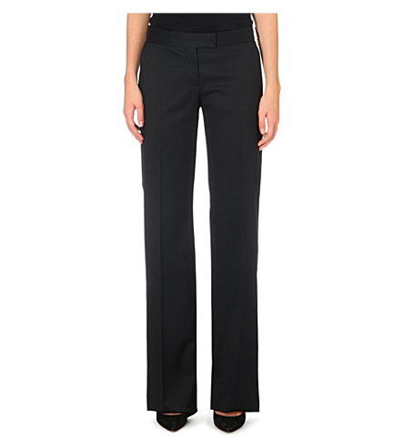 STELLA MCCARTNEY Jasmine straight-leg trousers (Black