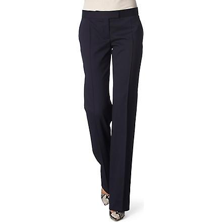 STELLA MCCARTNEY Jasmine straight-leg trousers (Navy