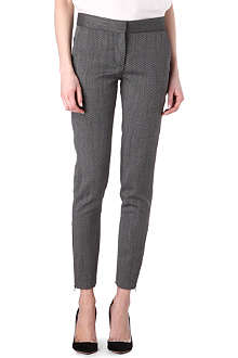 STELLA MCCARTNEY Skinny zipped-ankle trousers