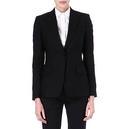 STELLA MCCARTNEY Iris wool blazer (Black