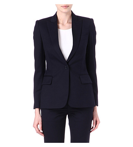 STELLA MCCARTNEY Iris wool blazer (Navy
