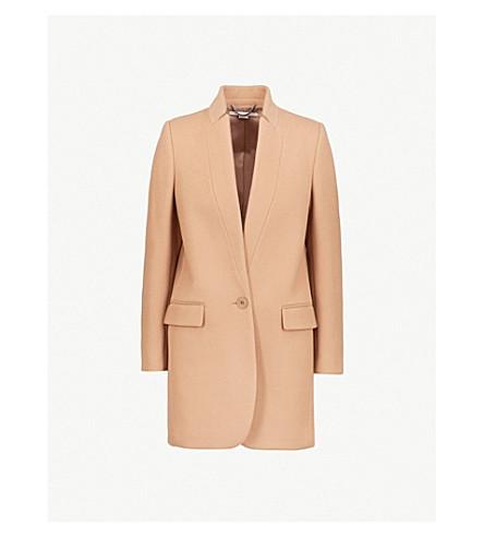 STELLA MCCARTNEY Bryce wool-blend coat (Camel