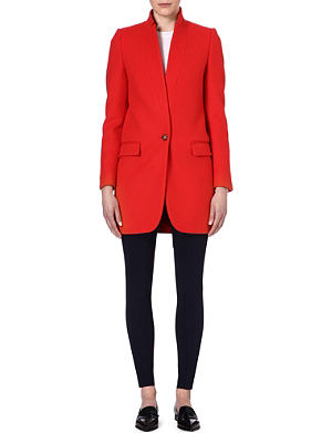 STELLA MCCARTNEY Tailored wool-blend coat