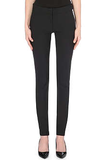 STELLA MCCARTNEY Skinny stretch-twill trousers