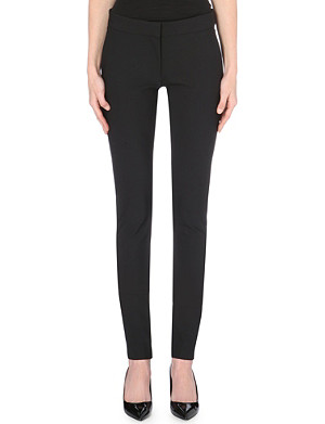 STELLA MCCARTNEY Ivy slim-fit skinny stretch-crepe trousers