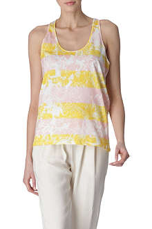 STELLA MCCARTNEY Flower-print vest