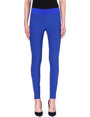 STELLA MCCARTNEY Zip-detailed leggings
