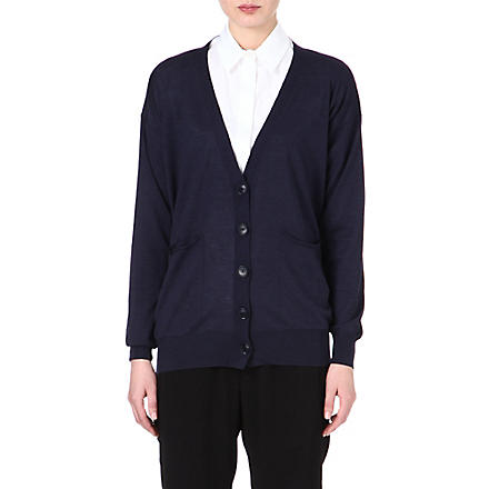 STELLA MCCARTNEY V-neck cardigan (Navy
