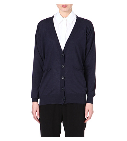 STELLA MCCARTNEY V-neck cardigan (Navy