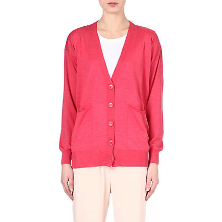 STELLA MCCARTNEY V-neck cardigan (Sorbet