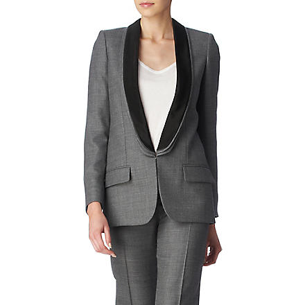 STELLA MCCARTNEY Mathilda triple-lapel jacket (Grey