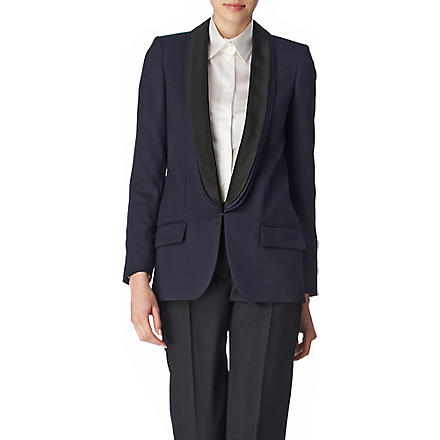 STELLA MCCARTNEY Mathilda triple-lapel jacket (Navy