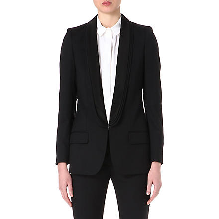 STELLA MCCARTNEY Mathilda triple-lapel blazer (Black