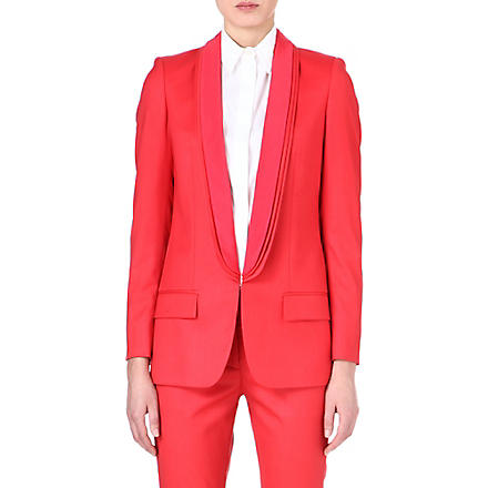STELLA MCCARTNEY Mathilda triple-lapel blazer (Sorbet