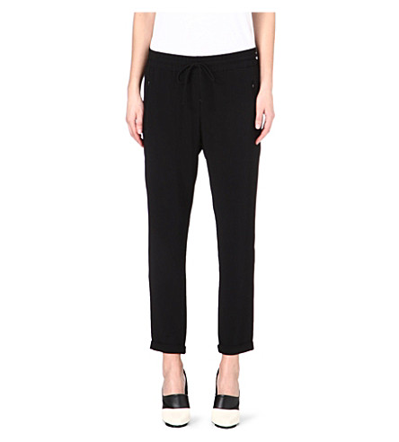 STELLA MCCARTNEY Classic jogging bottoms (Black