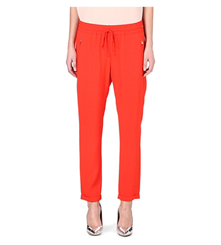 STELLA MCCARTNEY Classic jogging bottoms (Red