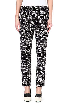 STELLA MCCARTNEY Heart-print jogging bottoms