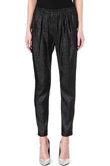 STELLA MCCARTNEY Lurex trousers