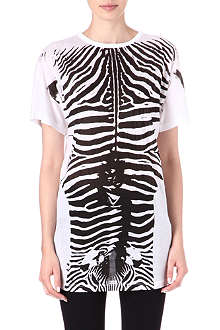 STELLA MCCARTNEY Zebra-print t-shirt