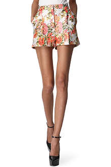STELLA MCCARTNEY Floral jacquard shorts