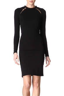 STELLA MCCARTNEY Embellished-neck dress