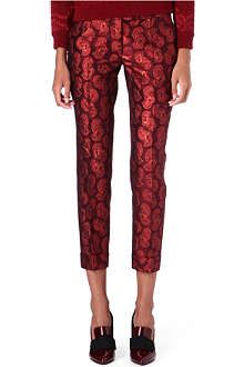 STELLA MCCARTNEY Skinny jacquard trousers