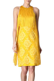 STELLA MCCARTNEY Fringed floral dress