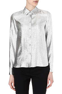STELLA MCCARTNEY Metallic lurex shirt