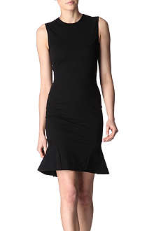 STELLA MCCARTNEY Sleeveless kicked-hem dress