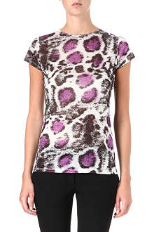 STELLA MCCARTNEY Leopard-print t-shirt