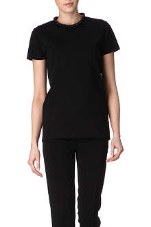 STELLA MCCARTNEY Embellished-neck top
