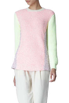 STELLA MCCARTNEY Colour-block jumper