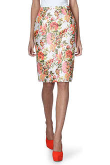 STELLA MCCARTNEY Jacquard pencil skirt