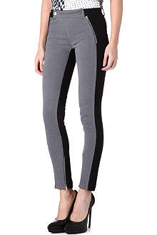 STELLA MCCARTNEY Contrast-panel jeans