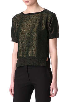 STELLA MCCARTNEY Metallic jumper