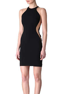 STELLA MCCARTNEY Contrast mesh dress