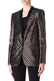 STELLA MCCARTNEY Metallic cut-out blazer