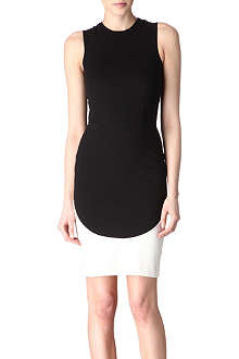STELLA MCCARTNEY Sleeveless contrast dress