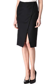 STELLA MCCARTNEY Petal split skirt