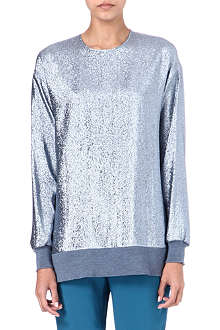 STELLA MCCARTNEY Metallic lurex jumper