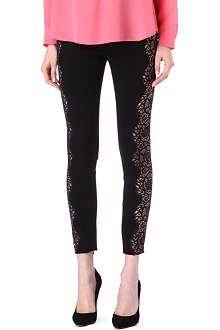 STELLA MCCARTNEY Lace-detailed leggings
