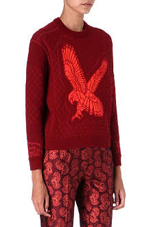STELLA MCCARTNEY Eagle quilted jumper