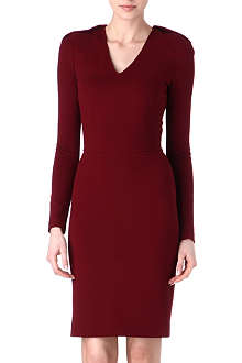 STELLA MCCARTNEY Folded-shoulders dress