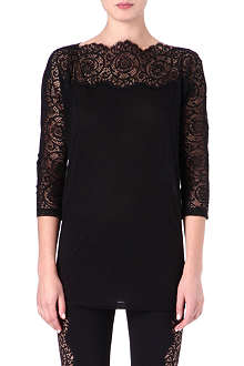 STELLA MCCARTNEY Lace tunic top